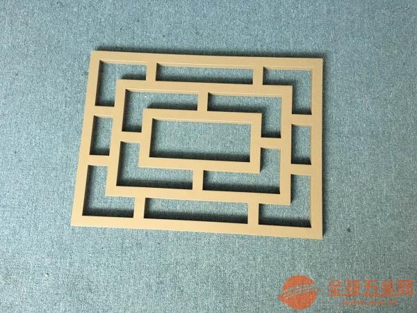 木纹铝窗花-广州越秀区-古代窗花-铝窗花制造商