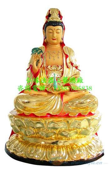 玻璃钢观音菩萨佛像