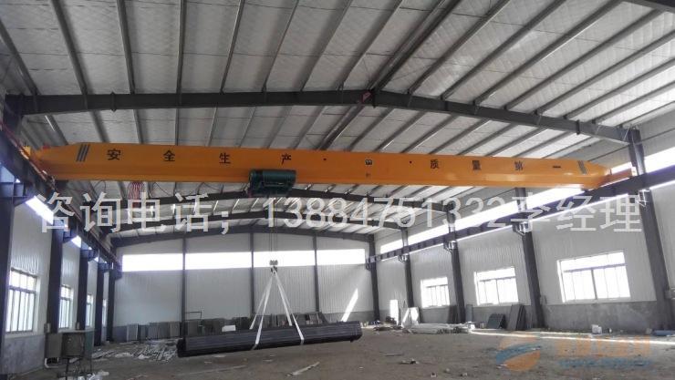 10吨电动葫芦单梁桥式起重机