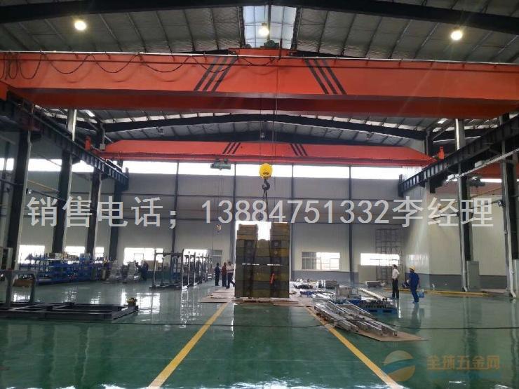 LH型16吨电动葫芦双梁桥式起重机