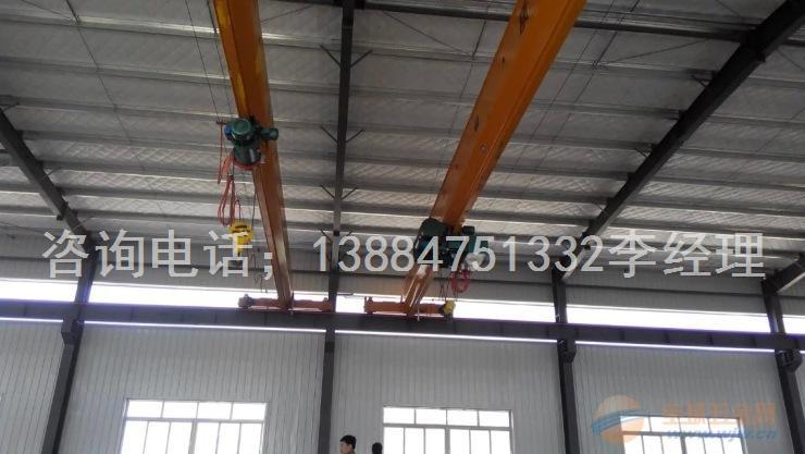 3吨电动葫芦单梁桥式起重机