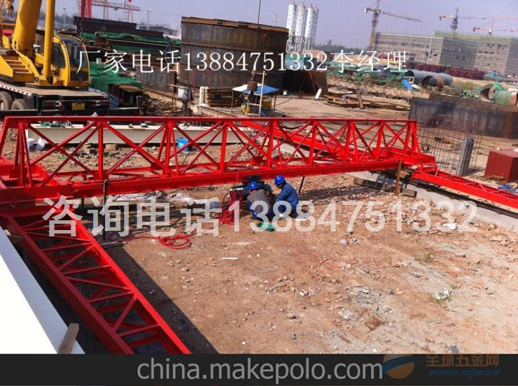 菏泽地区5吨电动葫芦单梁龙门吊