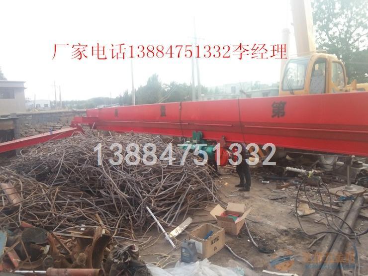 济宁地区10吨电动葫芦单梁龙门吊