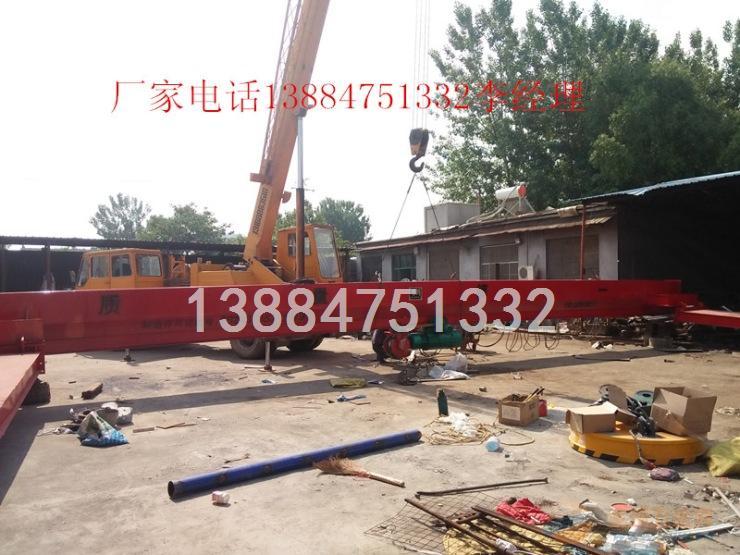 宁夏5吨电动葫芦单梁门式吊价格