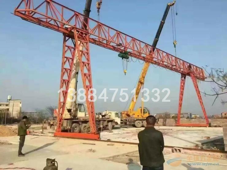 10吨葫芦门式起重机