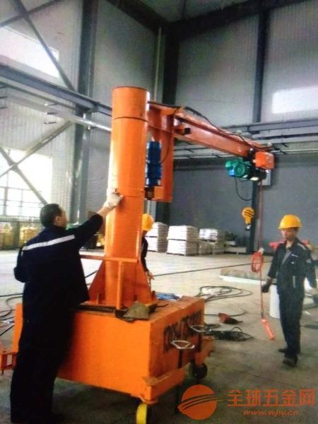 山东移动式悬臂吊销往全国信誉保证