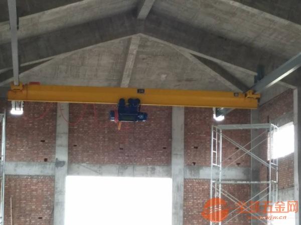 山东水泵房专用单梁起重机生产厂家