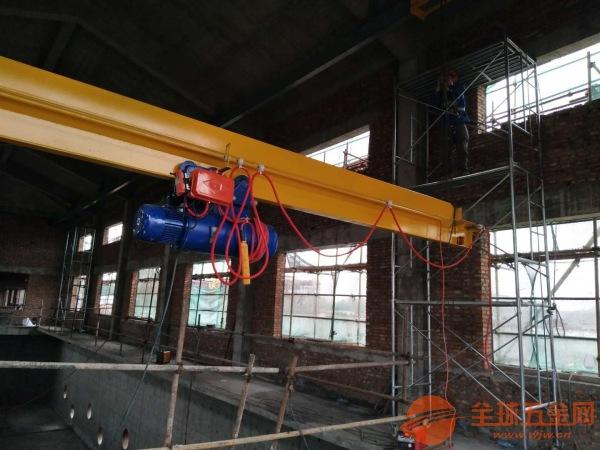 水泵房专用单梁起重机山东实力老厂