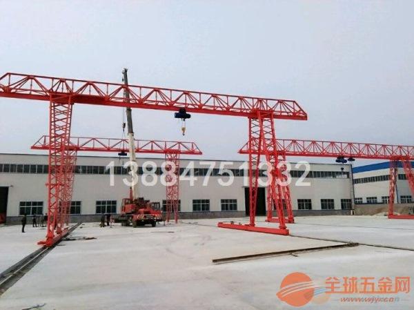 菏泽5吨电动葫芦单梁龙门吊现货供应价格实惠