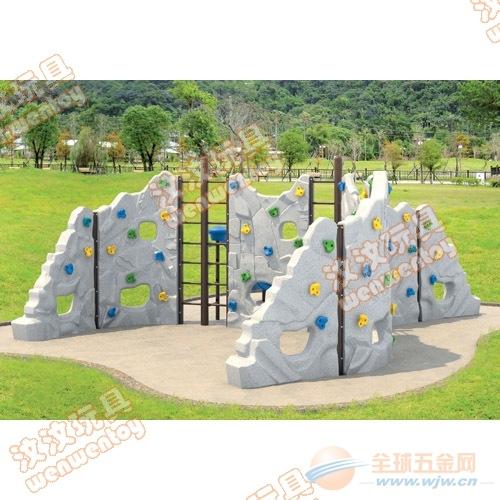 鹤壁儿童户外攀爬架定制 儿童户外攀岩墙生产 幼儿园攀岩墙