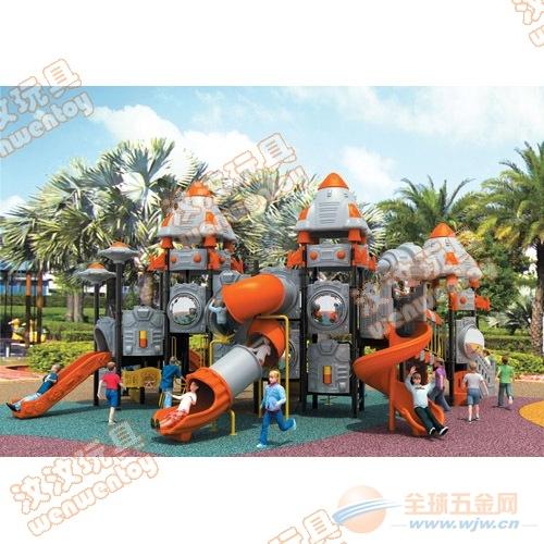 汶汶大型工厂可批发大型户外儿童娱乐组合滑梯
