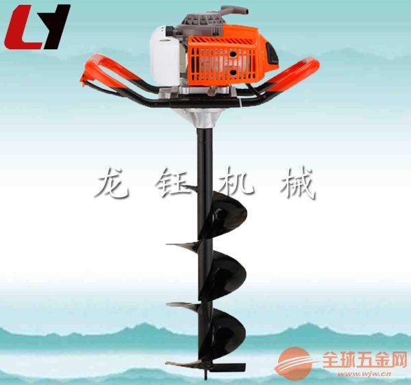 植树挖坑机龙钰牌新型手动便携式挖坑机