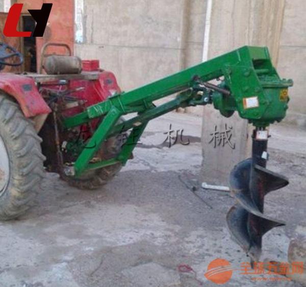 新品电线杆挖坑机植树