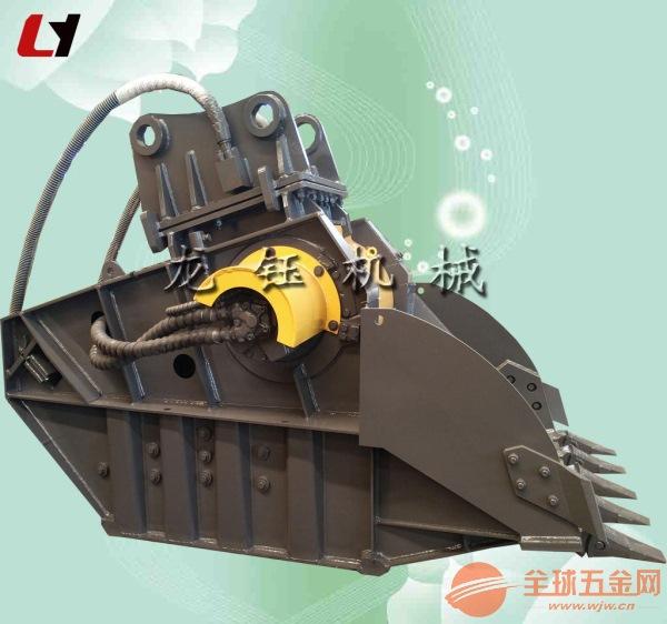 供应厦工挖掘机混凝土破碎器 挖沟机颚式破碎器