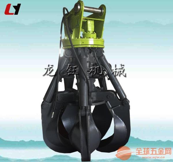 高效加藤挖掘机液压莲花抓 挖土机机械式抓钢机