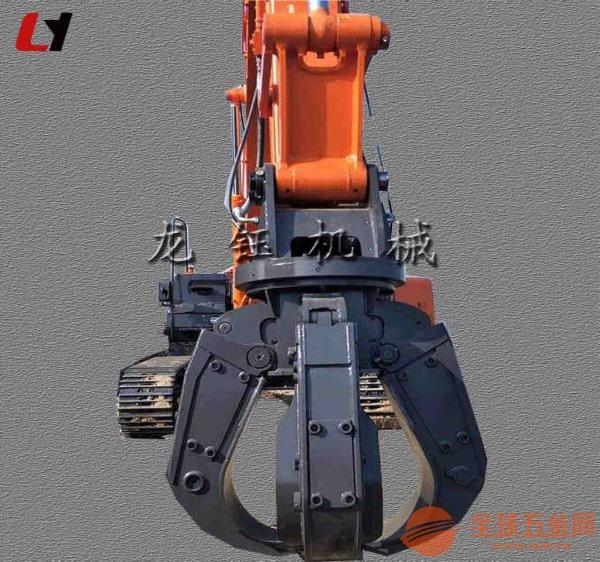 专业生产住友挖掘机液压梅花抓 挖机液压四瓣抓钢机