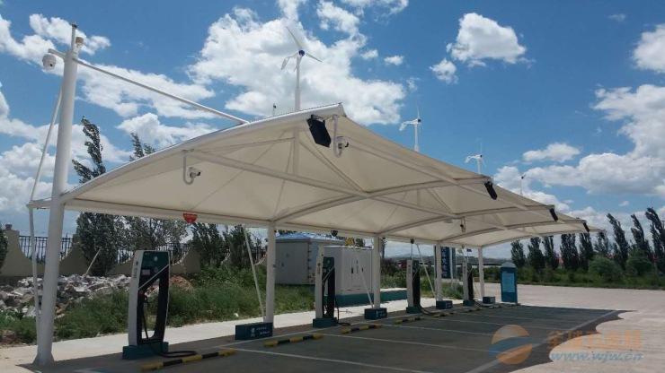 充电桩车棚膜结构