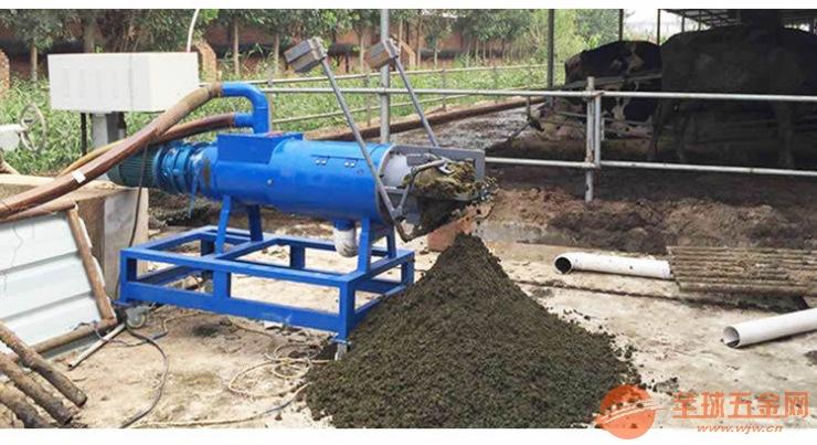 养殖设备 大粪脱水机