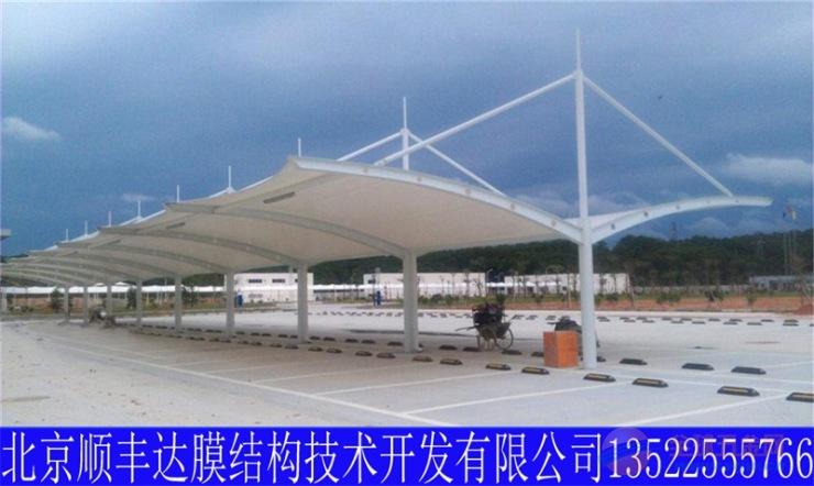自行车棚,北京顺丰达膜结构自行车棚生产厂家