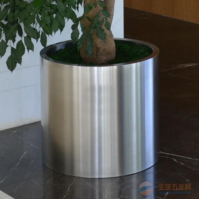 定制不锈钢镜面花盆 各类不锈钢花盆花器加工
