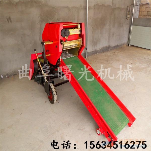 山东曙光机械厂供应青贮打捆包膜机 全自动半自动草料打