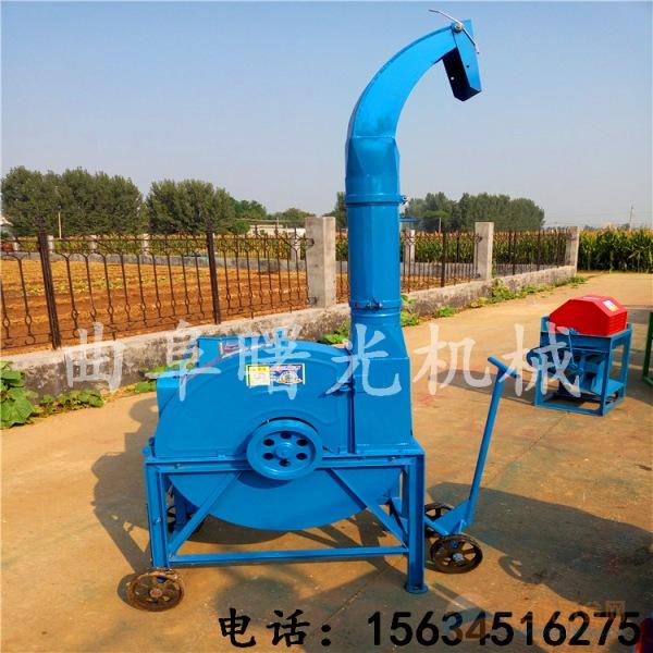 青贮秸秆牧草粉碎机 多功能铡草机揉丝机 自产自销机器