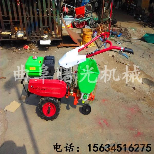 家用小型松土机 微耕机旋耕机新款上市 多功能旋耕播种机