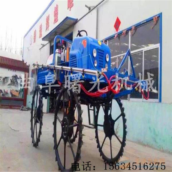 柴油25.52马力自走全自动打药车15米喷幅打药车