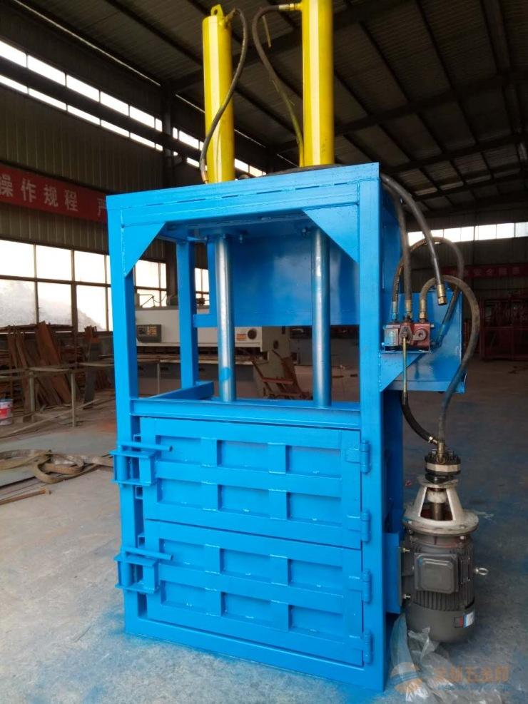 大型液压塑料打包机 优质废气油桶打包机参数