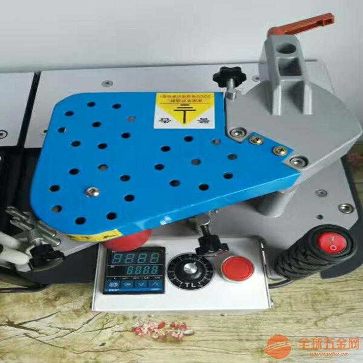 封直线异形板材 木工专用封边机 双面涂胶 可调节封边速度 封斜边