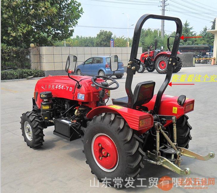 农用果园王拖拉机开沟旋耕田园管理机常力泰山轮胎四轮驱动拖拉机