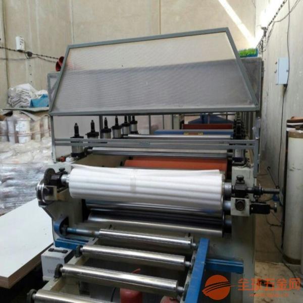 彭阳县 大板涂胶帖木纹纸机 平面大板卷材膜贴面机
