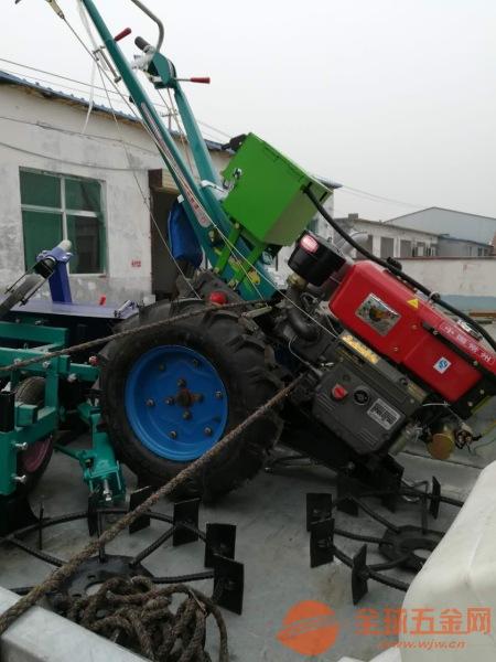 本溪 手扶车带动硬土质挖沟机 大棚田地旋耕机