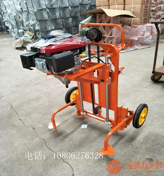 武威 框架式钻孔机价格 全自动挖坑机