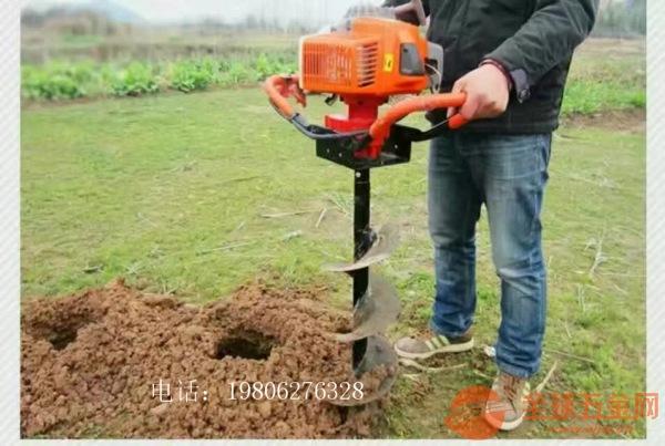 沈阳 轻便打洞机 苗木种植挖穴机