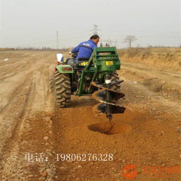 宜春 转眼挖坑机 栽树大直径汽油挖坑机