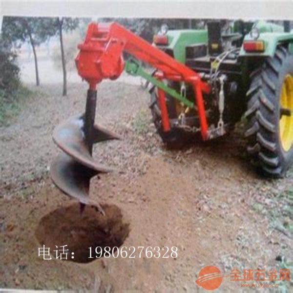 延安 多功能挖坑机 自走式挖坑机