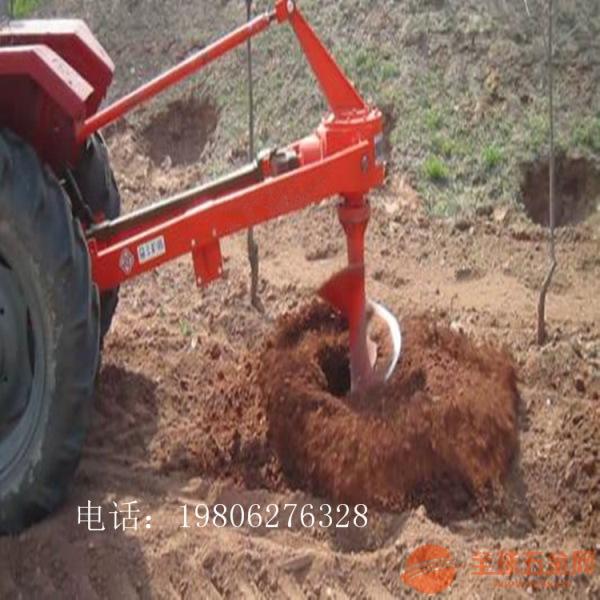 宜宾 栽苗打洞钻坑打孔机 螺旋钻光伏打桩钻