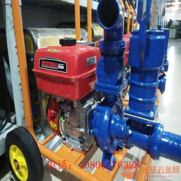 驻马店 框架式小型抽水泵 排灌排污汽油机水泵