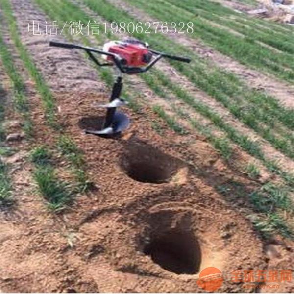 呼伦贝尔 植树挖坑机 高速种植挖坑机
