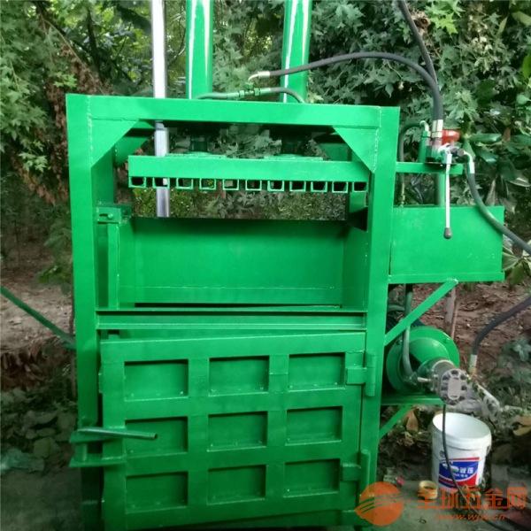 天门 立式铁灌压扁机 废金属液压压块机