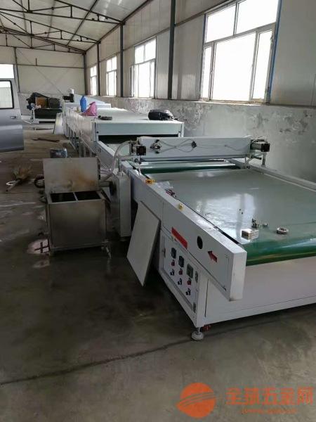杭州 地钻淋涂机设备 光油淋幕机可快速固化机