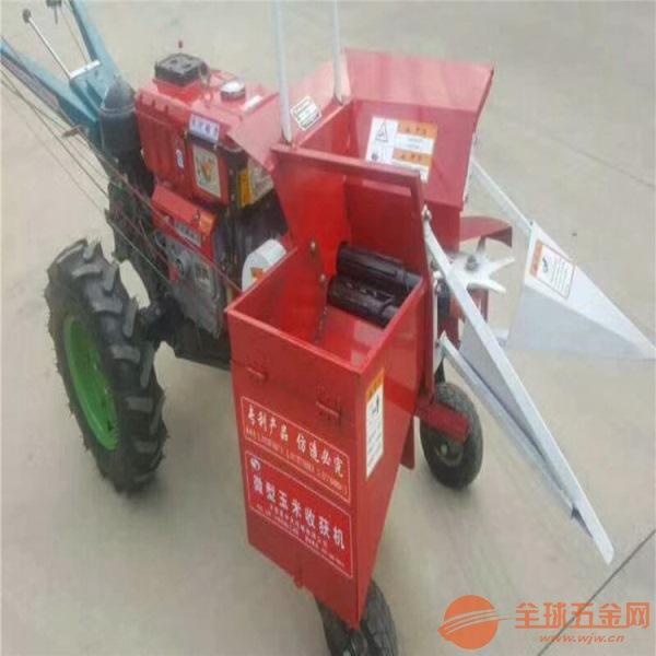 扎兰屯 多功能苞米收割机 秸秆还田玉米收割机