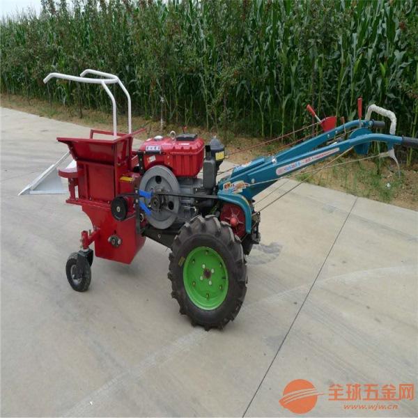 四平 汽油动力玉米收获机 手推式玉米收获机
