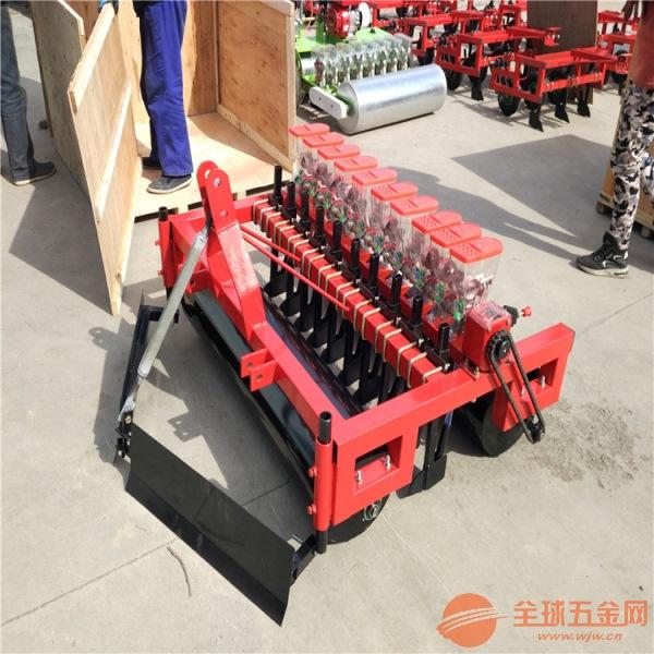 曲阳县大葱快速点播机 株距行距可调蔬菜播种机