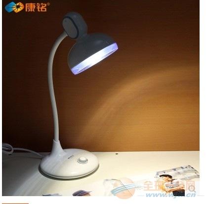 康铭调光台灯LED插电款护眼学习灯学生床头宿舍阅读节能灯