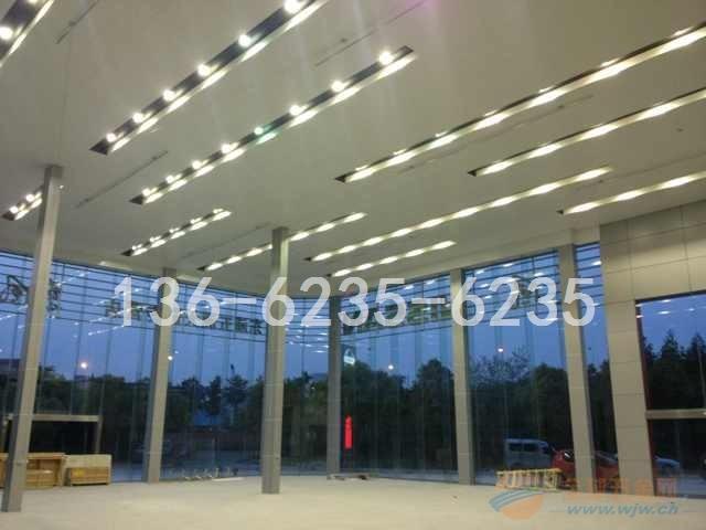 4S店展厅铝单板吊顶