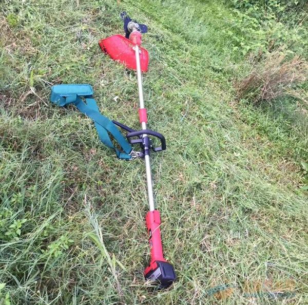 锂想锂电池充电割草机草坪机剪草机