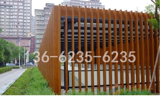 外墙型材木纹铝方管|氟碳油漆铝方管