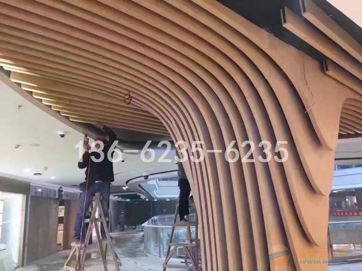 重庆弧形吊顶铝方通专业生产销售厂家
